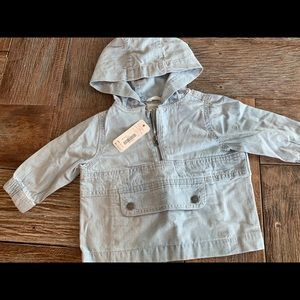 Nwt Gymboree boys Jean pull over poncho